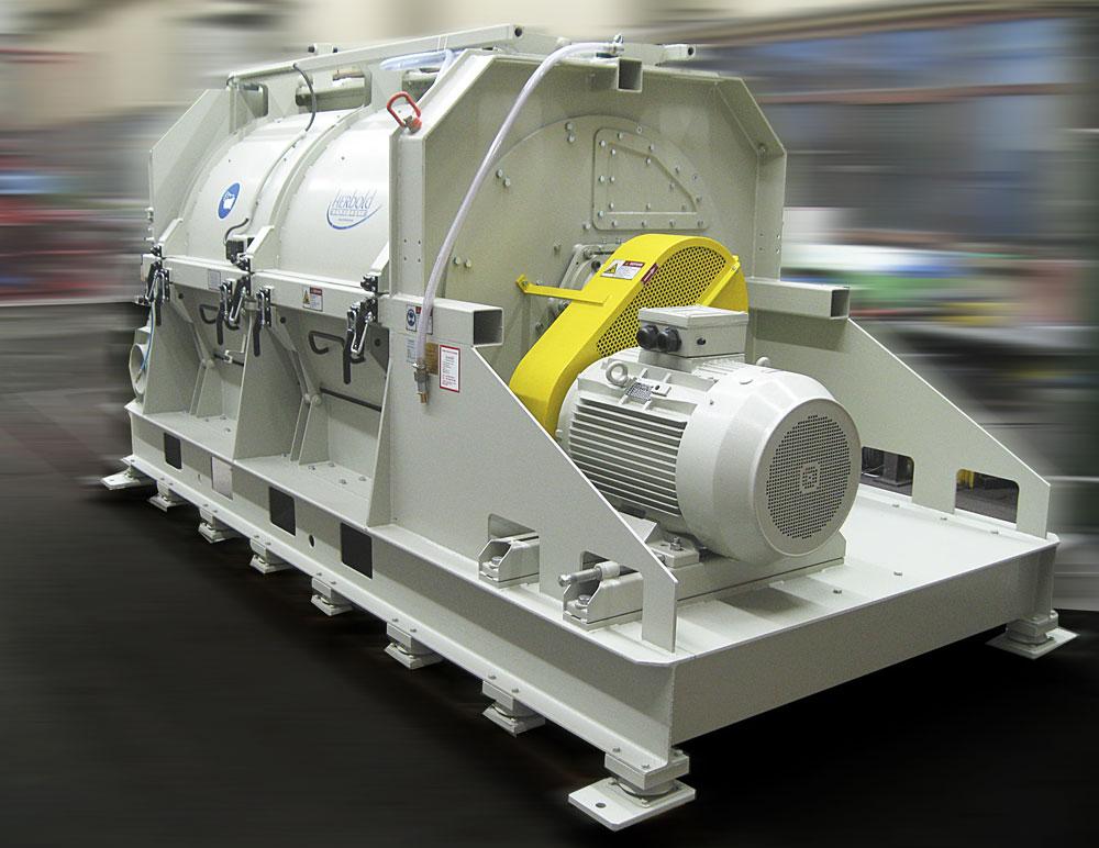 Sécheur mécanique - laveur centrifuge