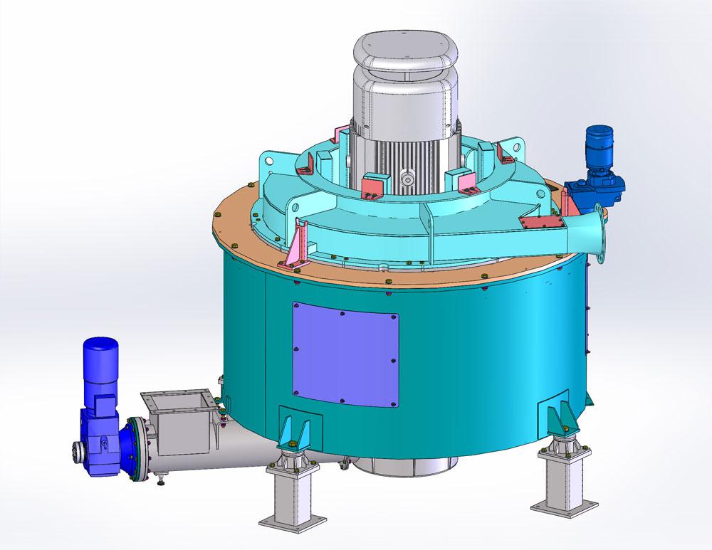 Sécheur Mécanique mono rotor multi-étages