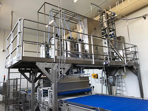 Doseur Multi-matières, poudres, broyés, granulés, talc CaCO3, paillettes PET, paillettes de film, dioxyde de titane TiO2...
