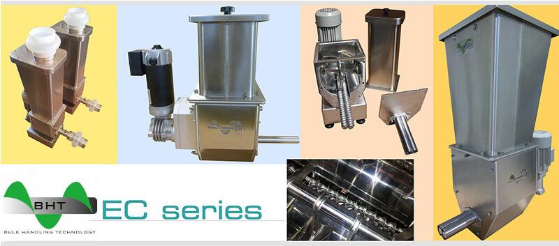 Dosage pondéral matières et granulés plastiques - Doseurs gravimétriques et volumétriques pour granulés et poudres à monovis ou bi-vis disponibles en version ATEX.