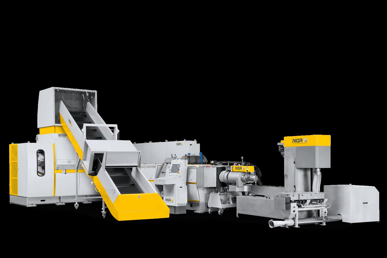 Machine de granulation et de recyclage plastique, NGR X:GRAN