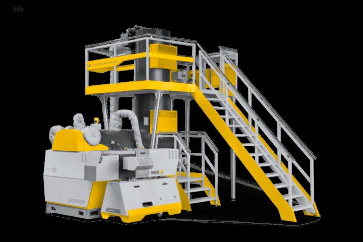 Machine de Recyclage et Granulation du PET - NGR P:REACT